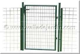 puerta de doble hoja dcha o izq verde o galvanizada